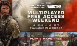 Call of Duty Modern Warfare free weekend PS4 and Xbox COD Warzone update