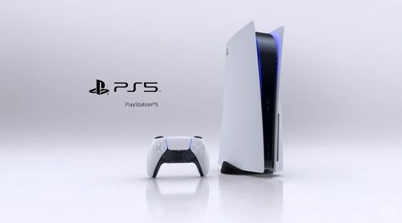 The PS5 console
