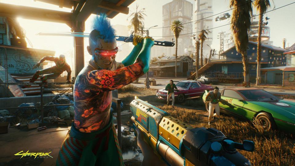 Cyberpunk 2077 mercenary